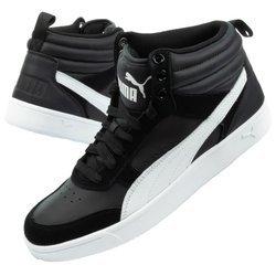 Buty Młodzieżowe Sportowe Puma Rebound Street V2 JR [363916 10]