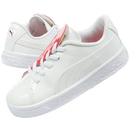 Buty Dziecięce Sportowe Puma Basket Crush Patent Baby [369675 01]