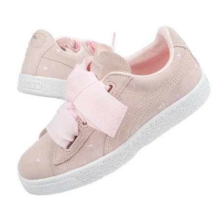 Buty dziecięce Puma Suede Heart [365136 03]