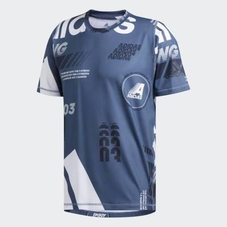 Koszulka męska sportowa Adidas FreeLift [DZ7393]